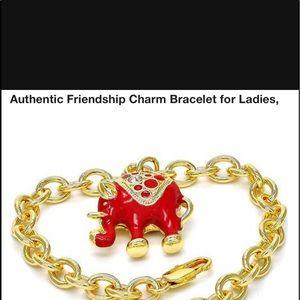 Jewelry - 14k gold filled Authentic elephant charm bracelet